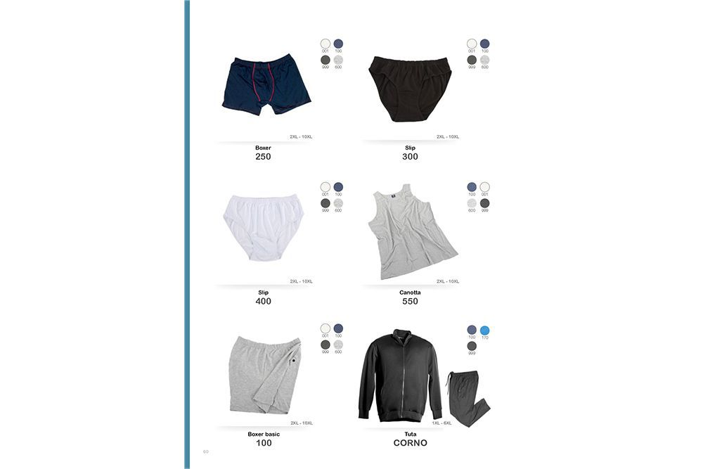 aeb460e2f455 ... abbigliamento uomo taglie forti collezione primavera - estate 2019 abbigliamento  intimo ...